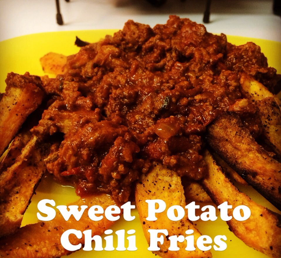 Paleo Sweet Potato Chilli Fries